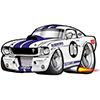 3D Drag Racing Car