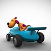 La Carrera Cartoon Car