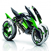 Motorbike Time Machine
