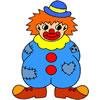 Clown Coloring