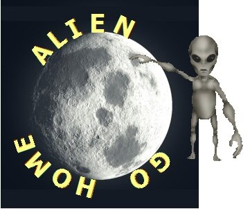 Alien go home
